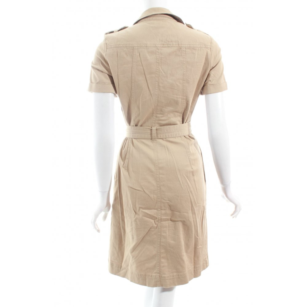 tommy hilfiger shortsleeve dress beige casual look women s size uk 6 ebay. Black Bedroom Furniture Sets. Home Design Ideas