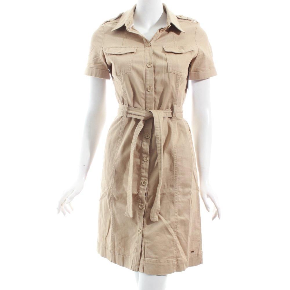 tommy hilfiger shortsleeve dress beige casual look women s. Black Bedroom Furniture Sets. Home Design Ideas