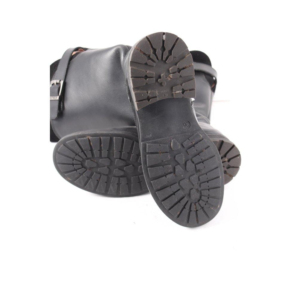 tommy hilfiger stiefel schwarz casual look damen gr de 36. Black Bedroom Furniture Sets. Home Design Ideas