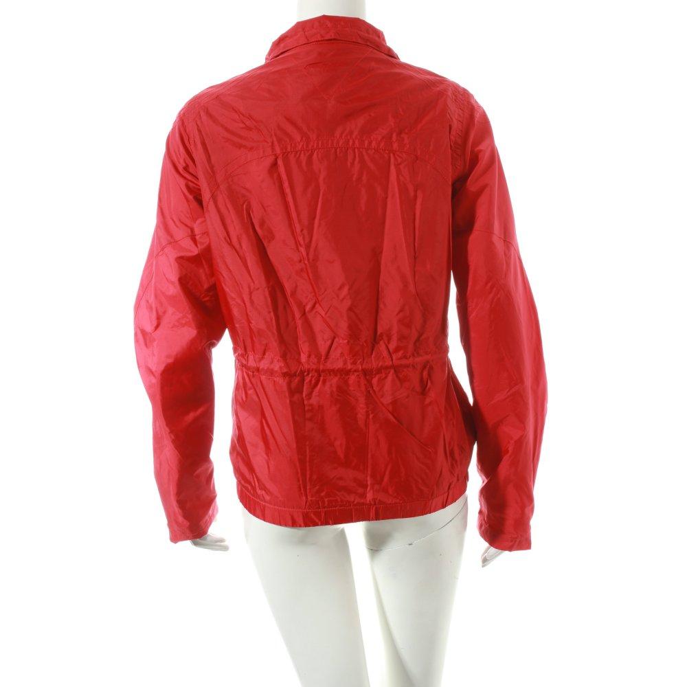 tommy hilfiger bergangsjacke rot sportlicher stil damen. Black Bedroom Furniture Sets. Home Design Ideas