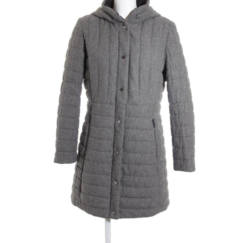 tommy hilfiger wintermantel grau casual look damen gr de 40 mantel coat ebay. Black Bedroom Furniture Sets. Home Design Ideas
