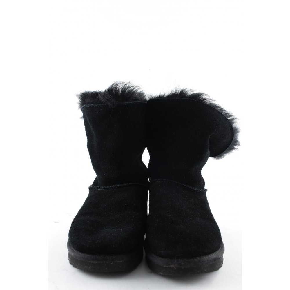 ugg australia snow boots w valentina black 38 black. Black Bedroom Furniture Sets. Home Design Ideas