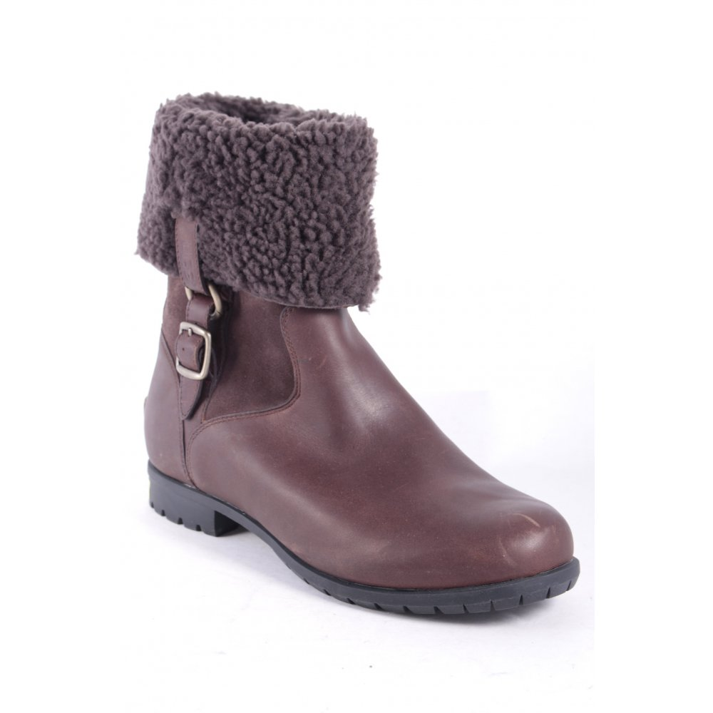ugg australia winter boots brown simple style s