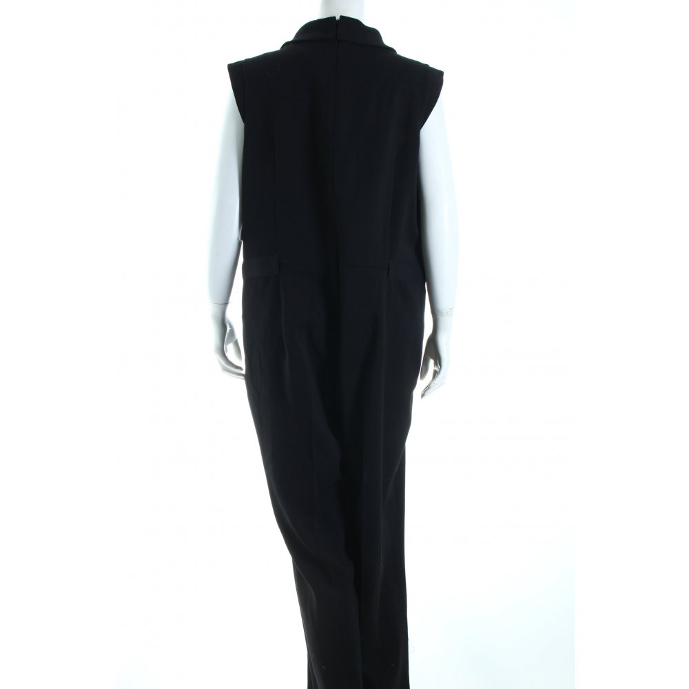 un deux trois jumpsuit schwarz elegant damen gr de 44 hose trousers ebay. Black Bedroom Furniture Sets. Home Design Ideas