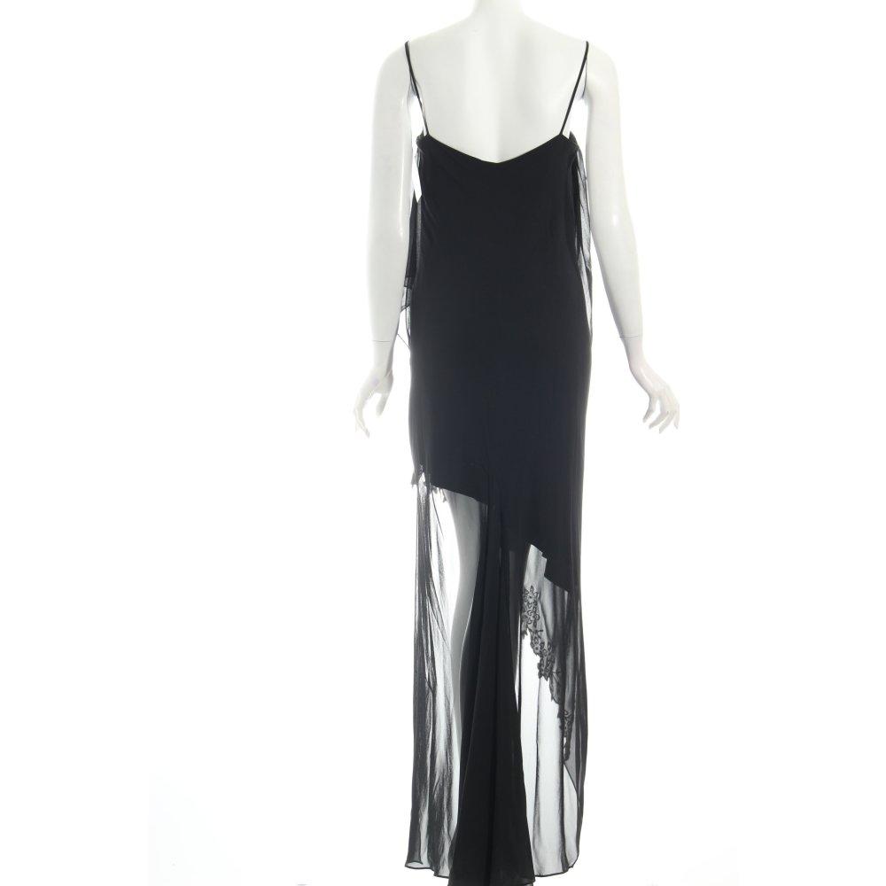 unique abendkleid schwarz elegant damen gr de 40 kleid. Black Bedroom Furniture Sets. Home Design Ideas