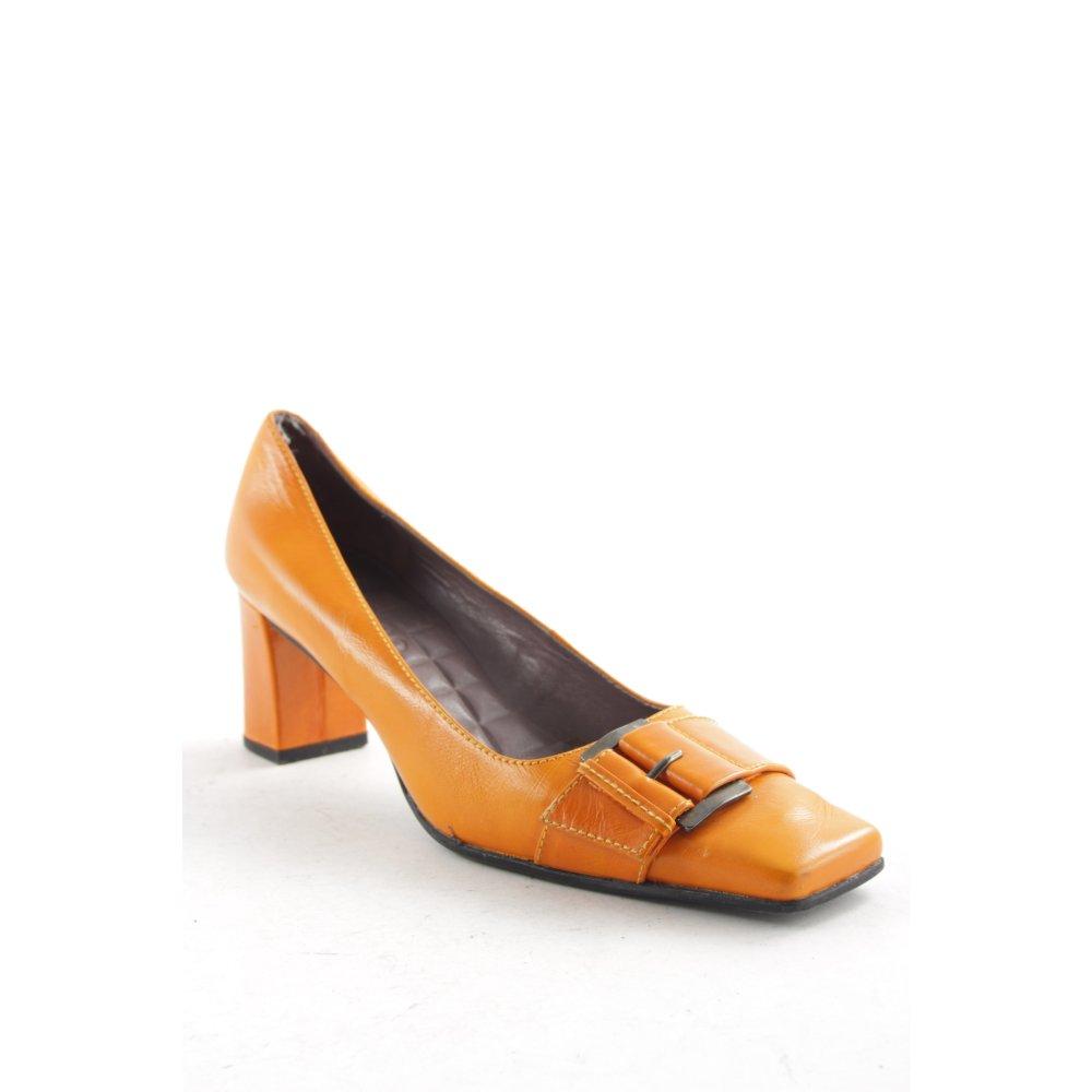 unisa high heels black orange elegant women s size uk 6 pumps women s shoes ebay. Black Bedroom Furniture Sets. Home Design Ideas