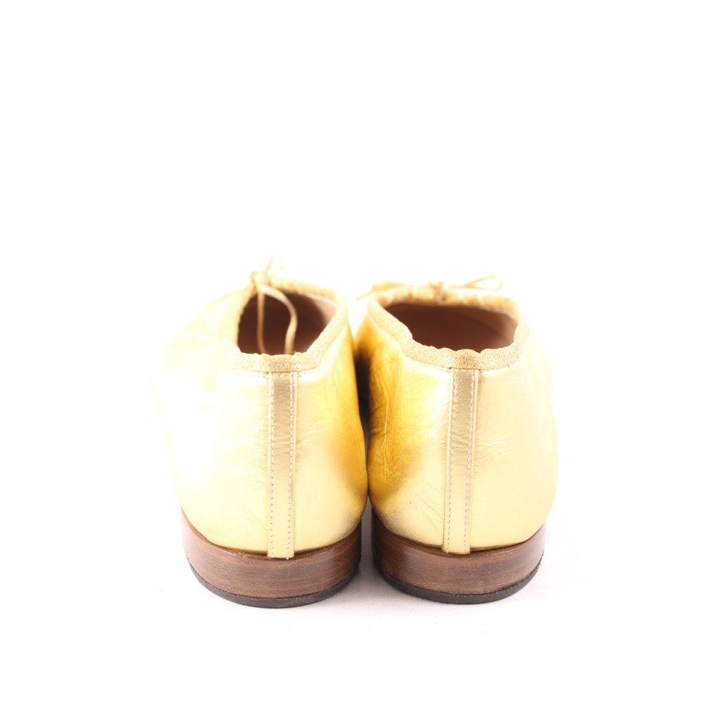 UNüTZER Ballerinas gold-colored elegant Women's Size UK 6 ...