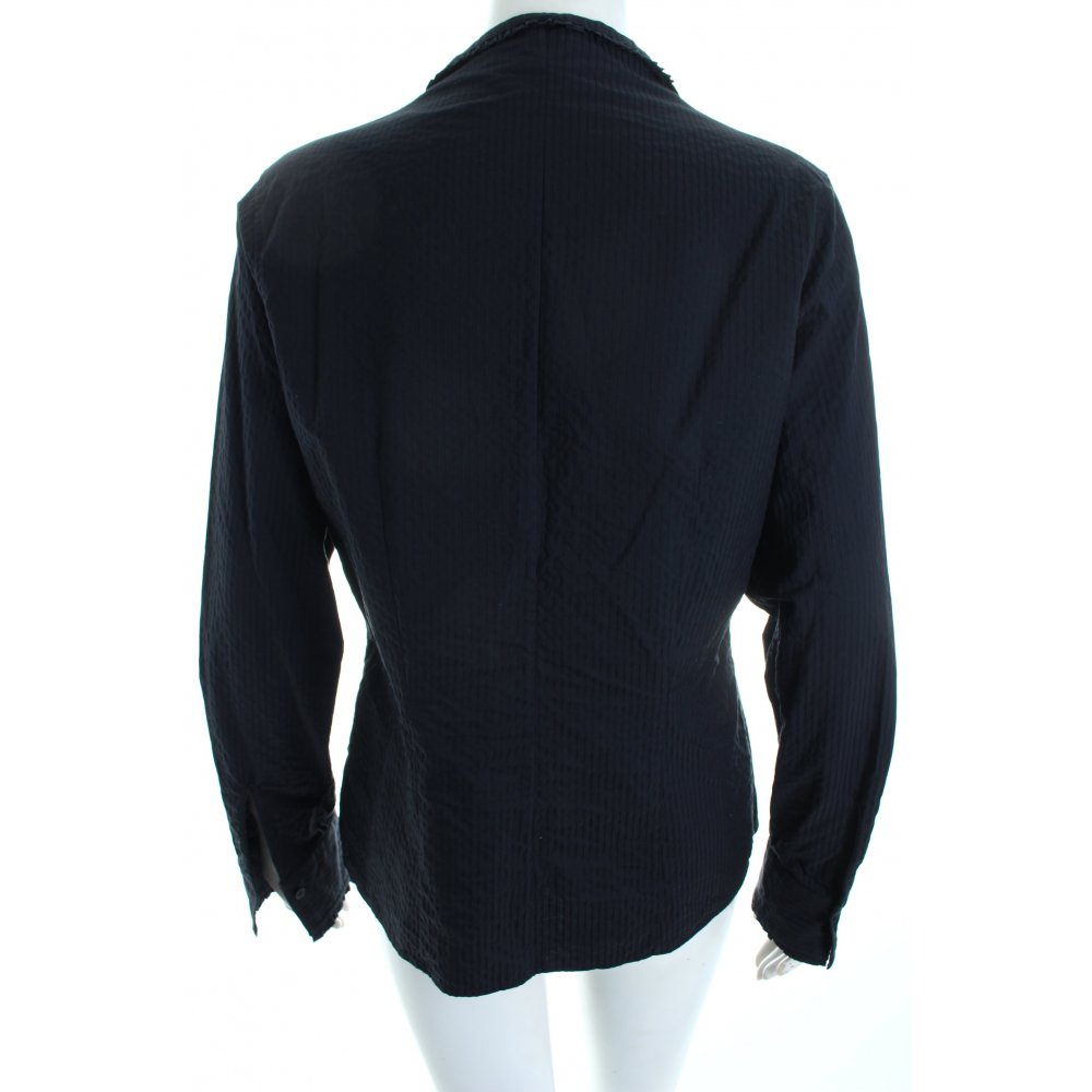 Van laack langarm bluse schwarz streifenmuster klassischer for Klassischer stil