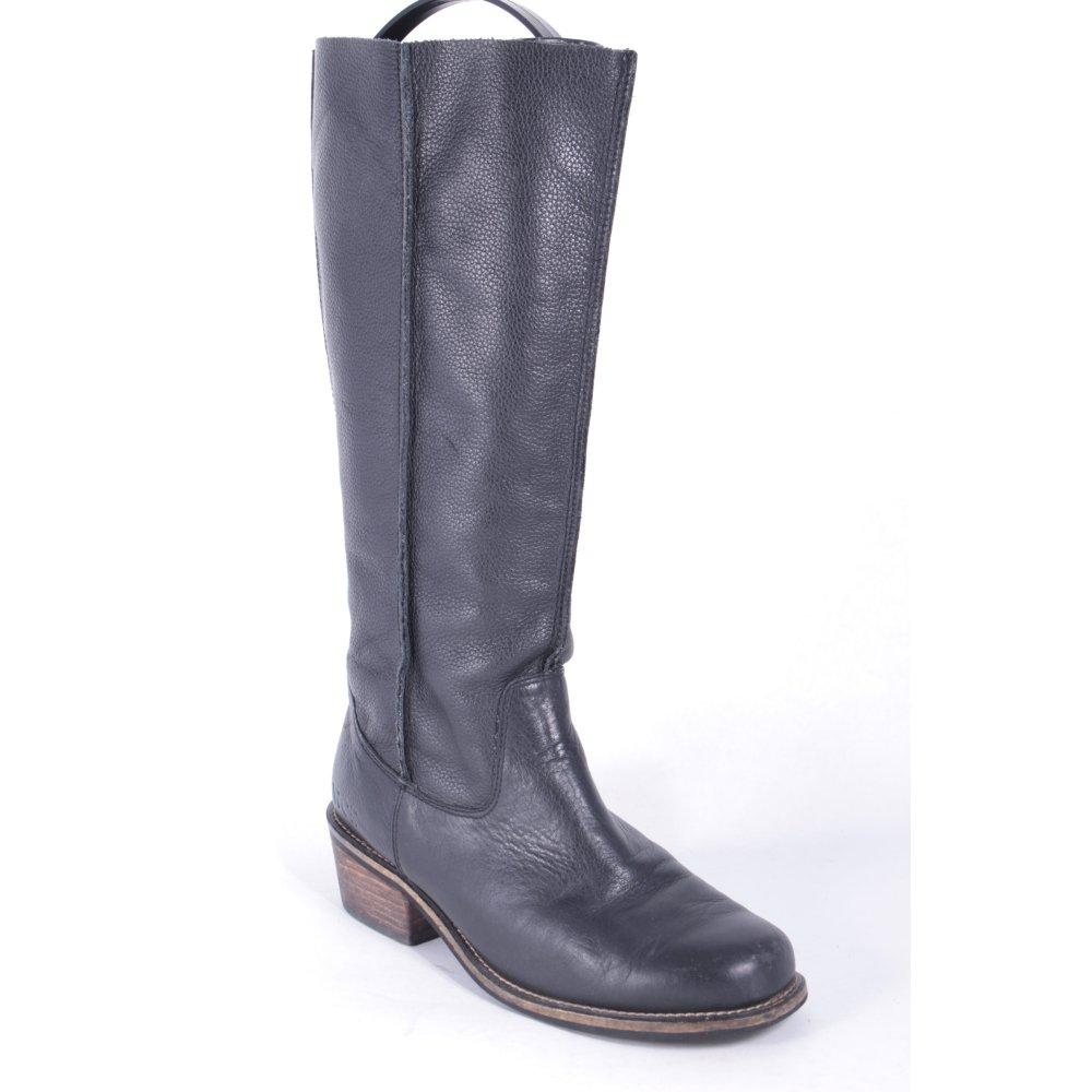 venice stiefel schwarz braun street fashion look damen gr de 37 schuhe shoes ebay. Black Bedroom Furniture Sets. Home Design Ideas