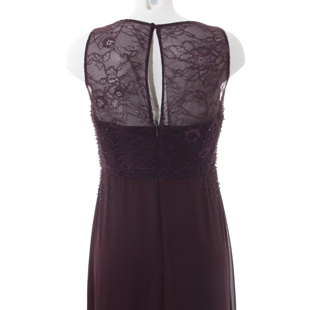 vera mont a linien kleid bordeauxrot purpur elegant damen. Black Bedroom Furniture Sets. Home Design Ideas