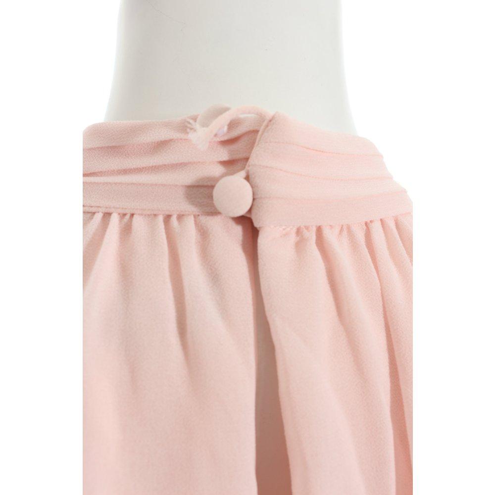 vera mont a linien kleid ros klassischer stil damen gr de 36 ros dress ebay. Black Bedroom Furniture Sets. Home Design Ideas