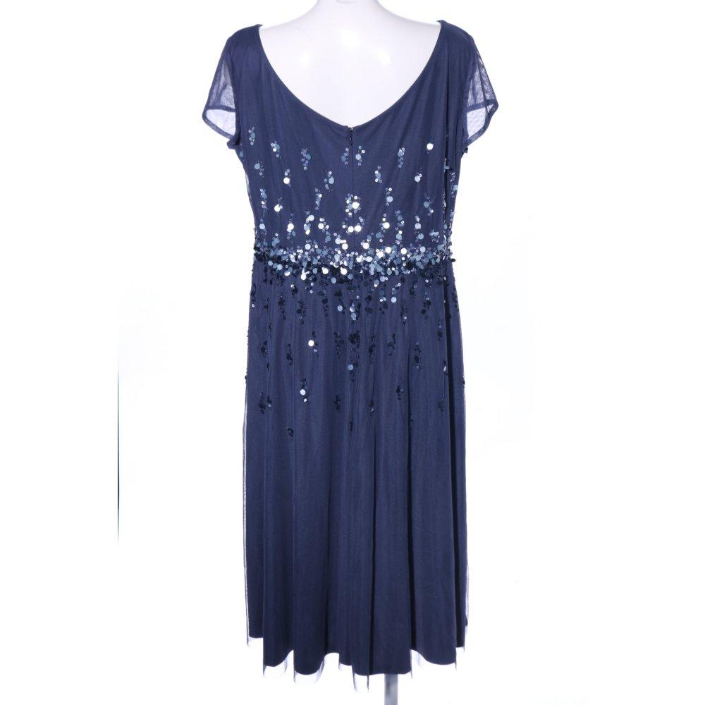 VERA MONT Abendkleid blau Elegant Damen Gr. DE 46 Kleid ...