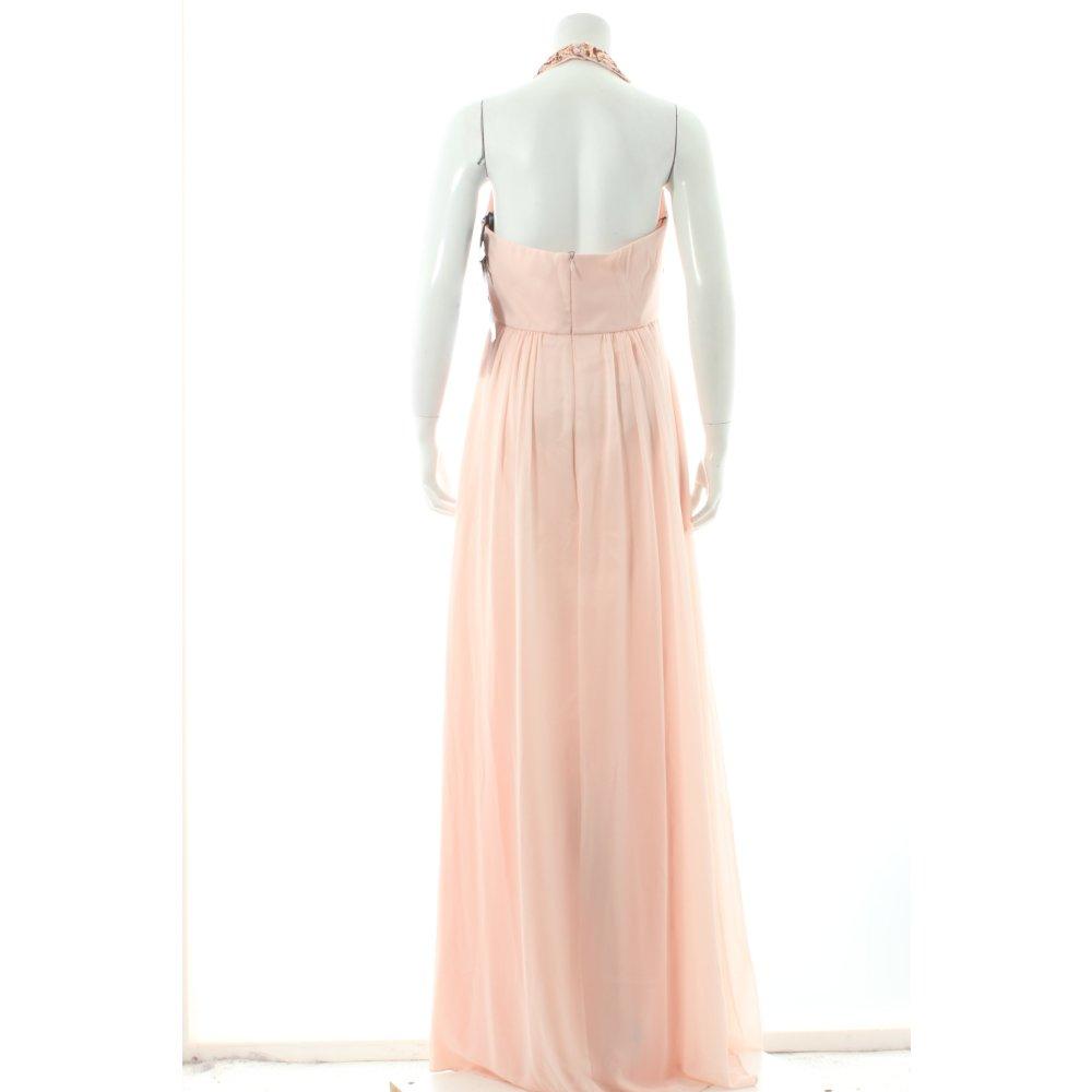 vera mont evening dress light pink sequin ornaments women s size uk 10. Black Bedroom Furniture Sets. Home Design Ideas