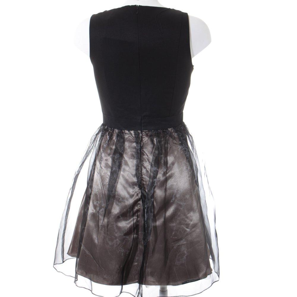 VERA MONT Abendkleid schwarz-goldfarben Elegant Damen Gr ...
