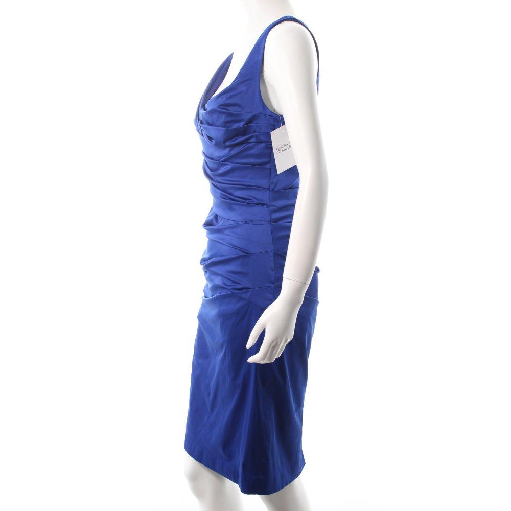 vera mont cocktailkleid blau elegant damen gr de 36 kleid. Black Bedroom Furniture Sets. Home Design Ideas