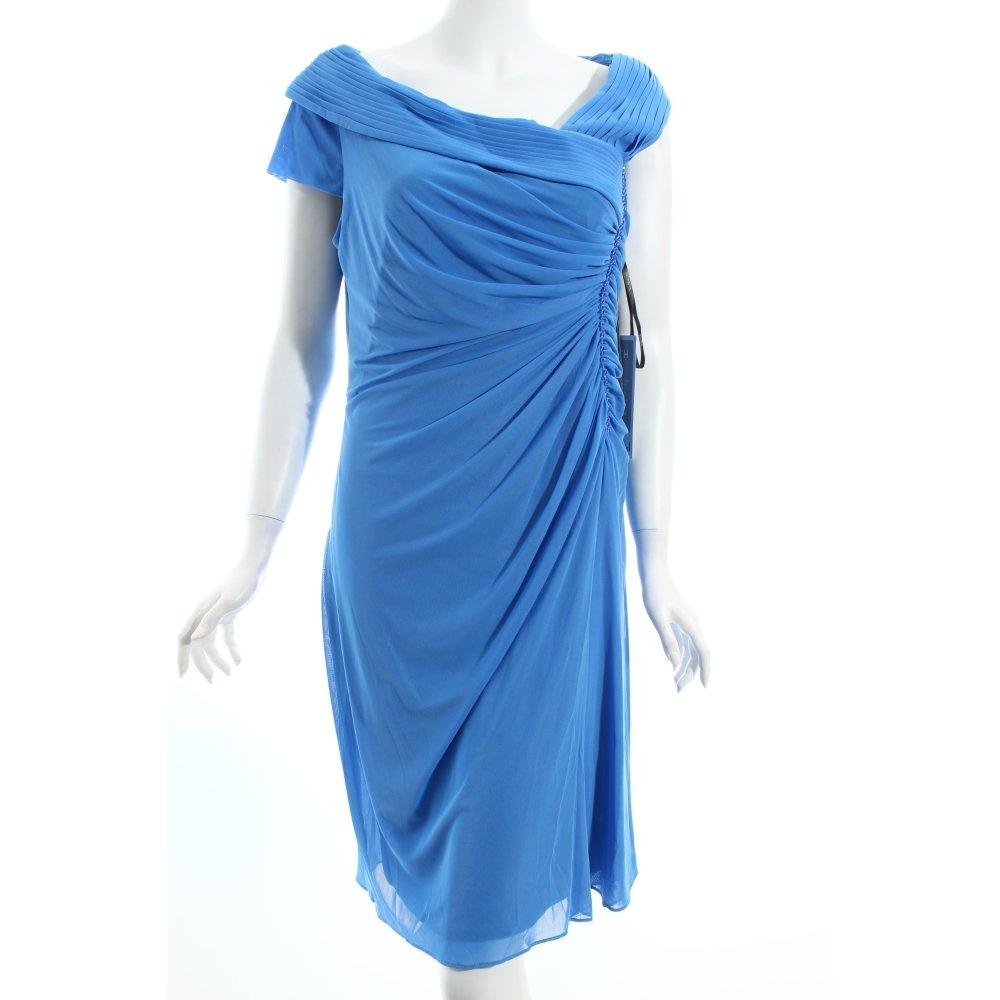vera mont cocktail dress blue bead ornaments women s size uk 16. Black Bedroom Furniture Sets. Home Design Ideas