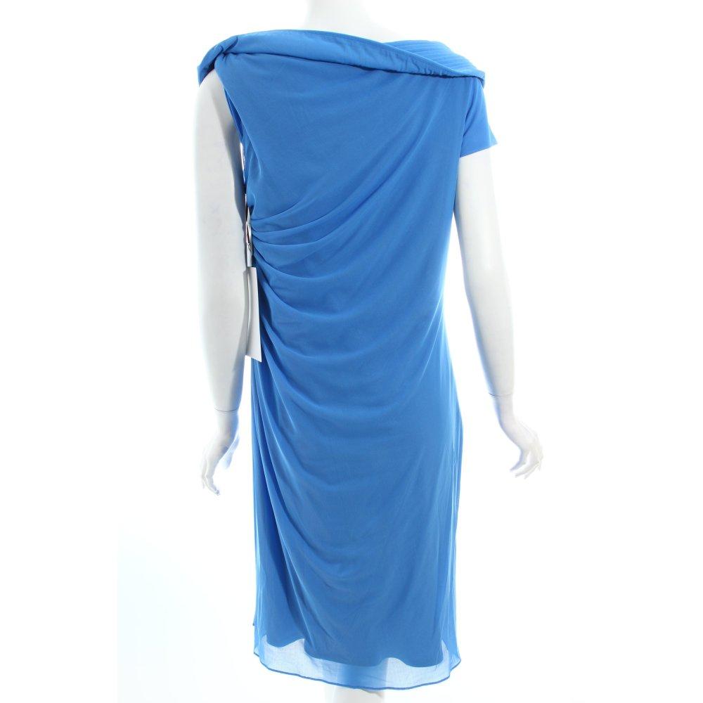 vera mont cocktailkleid blau perlenverzierung damen gr de. Black Bedroom Furniture Sets. Home Design Ideas