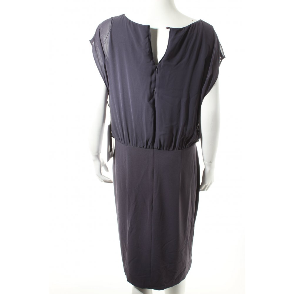 vera mont cocktailkleid dunkelblau elegant damen gr de 44 kleid dress. Black Bedroom Furniture Sets. Home Design Ideas