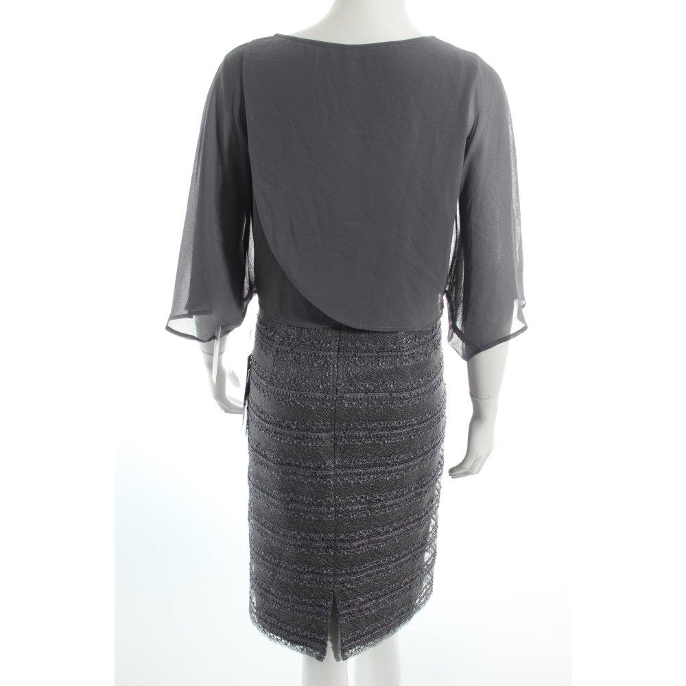 Vera mont cocktailkleid grau klassischer stil damen gr de for Klassischer stil
