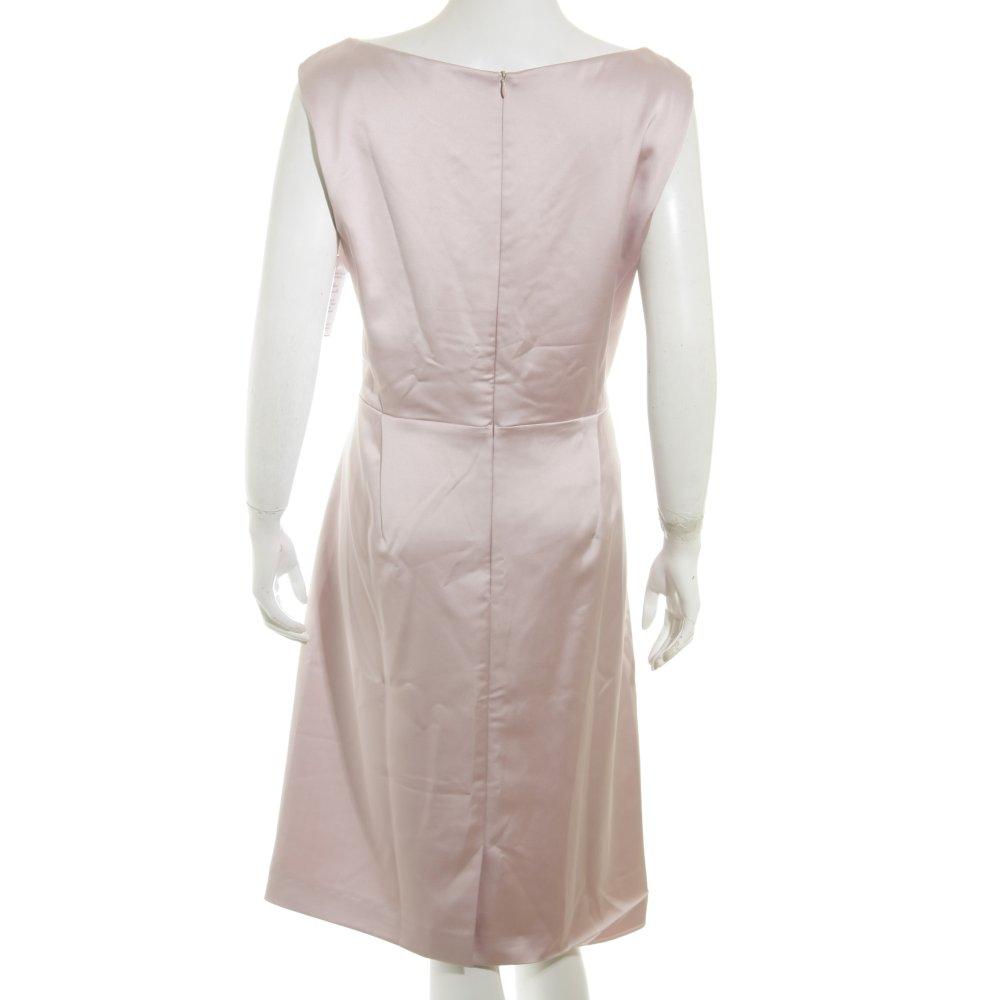 vera mont etuikleid ros elegant damen gr de 44 ros kleid dress sheath dress ebay. Black Bedroom Furniture Sets. Home Design Ideas
