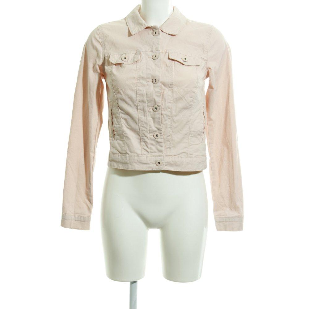 new styles 42292 3d9b2 Dettagli su VERO MODA Giacca corta rosa antico-argento Donna Taglia IT 40