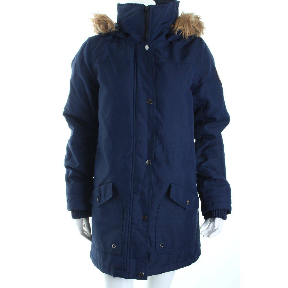 vero moda parka dunkelblau casual look damen gr de 38 jacke jacket ebay. Black Bedroom Furniture Sets. Home Design Ideas