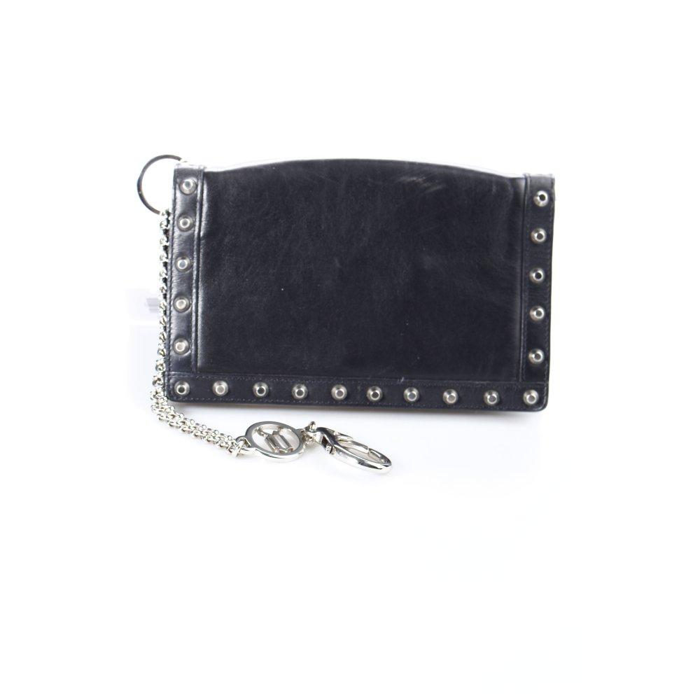 versace clutch schwarz street fashion look damen tasche. Black Bedroom Furniture Sets. Home Design Ideas