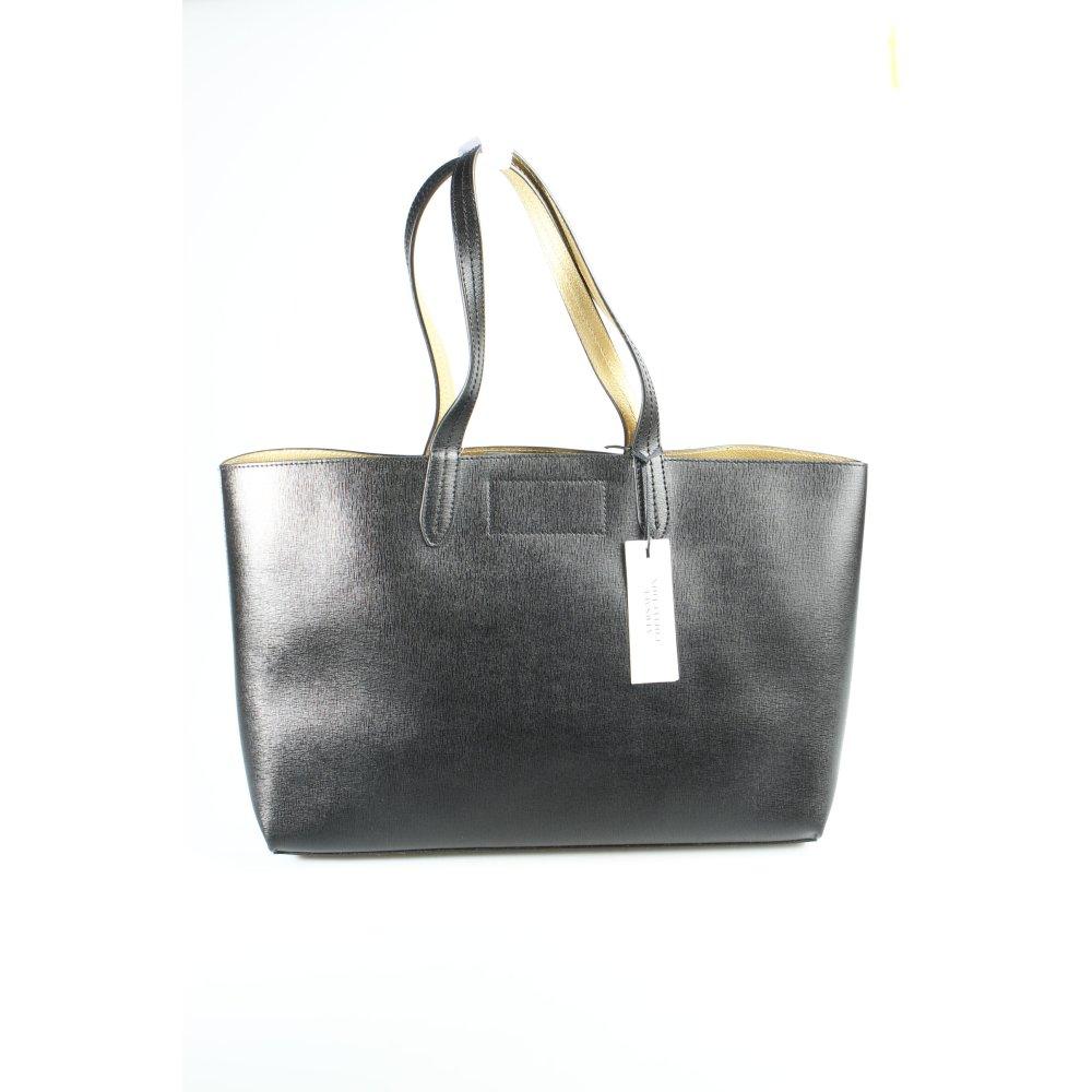 versace collection shopper schwarz goldfarben street. Black Bedroom Furniture Sets. Home Design Ideas