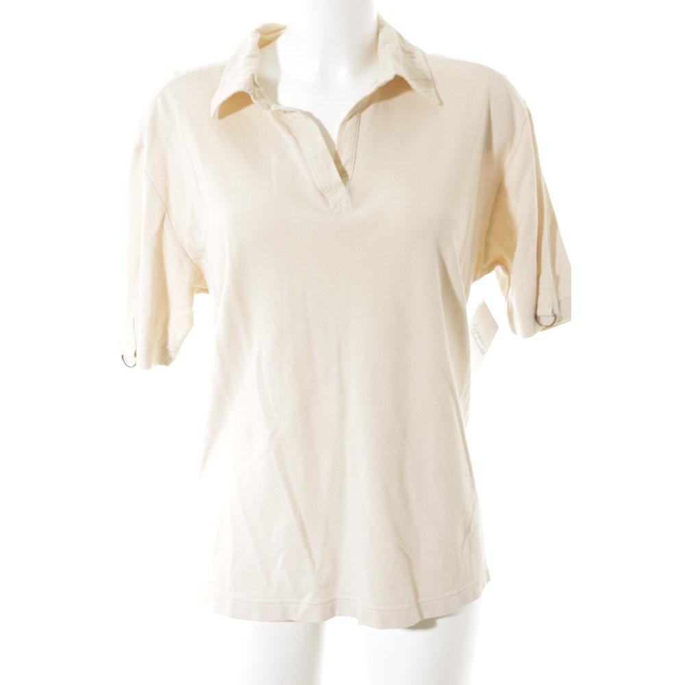 via appia due polo shirt creme casual look damen gr de 44 polo shirt ebay. Black Bedroom Furniture Sets. Home Design Ideas