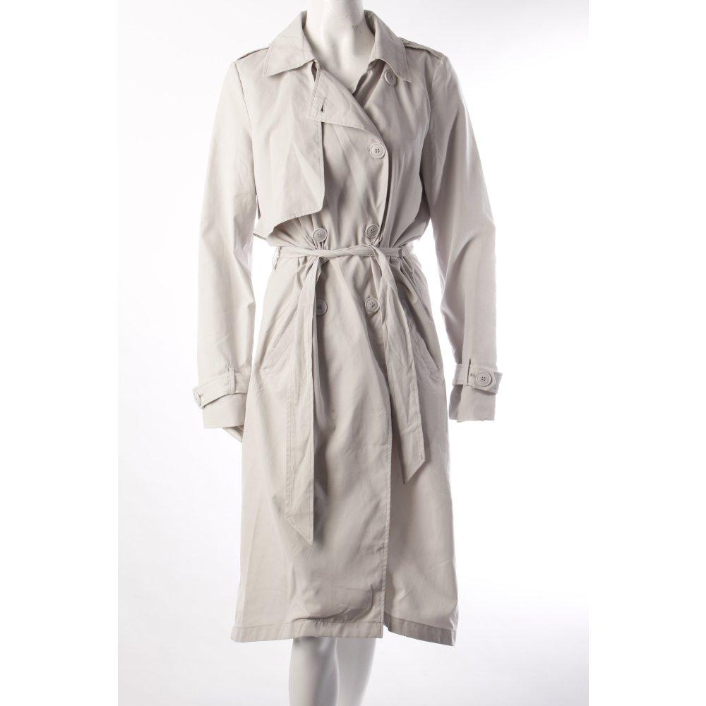 vila trenchcoat hellgrau damen gr de 38 grau mantel coat. Black Bedroom Furniture Sets. Home Design Ideas