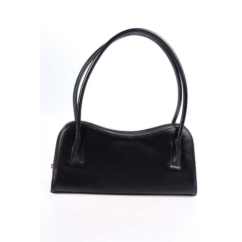 w valentino handtasche schwarz elegant damen tasche bag. Black Bedroom Furniture Sets. Home Design Ideas