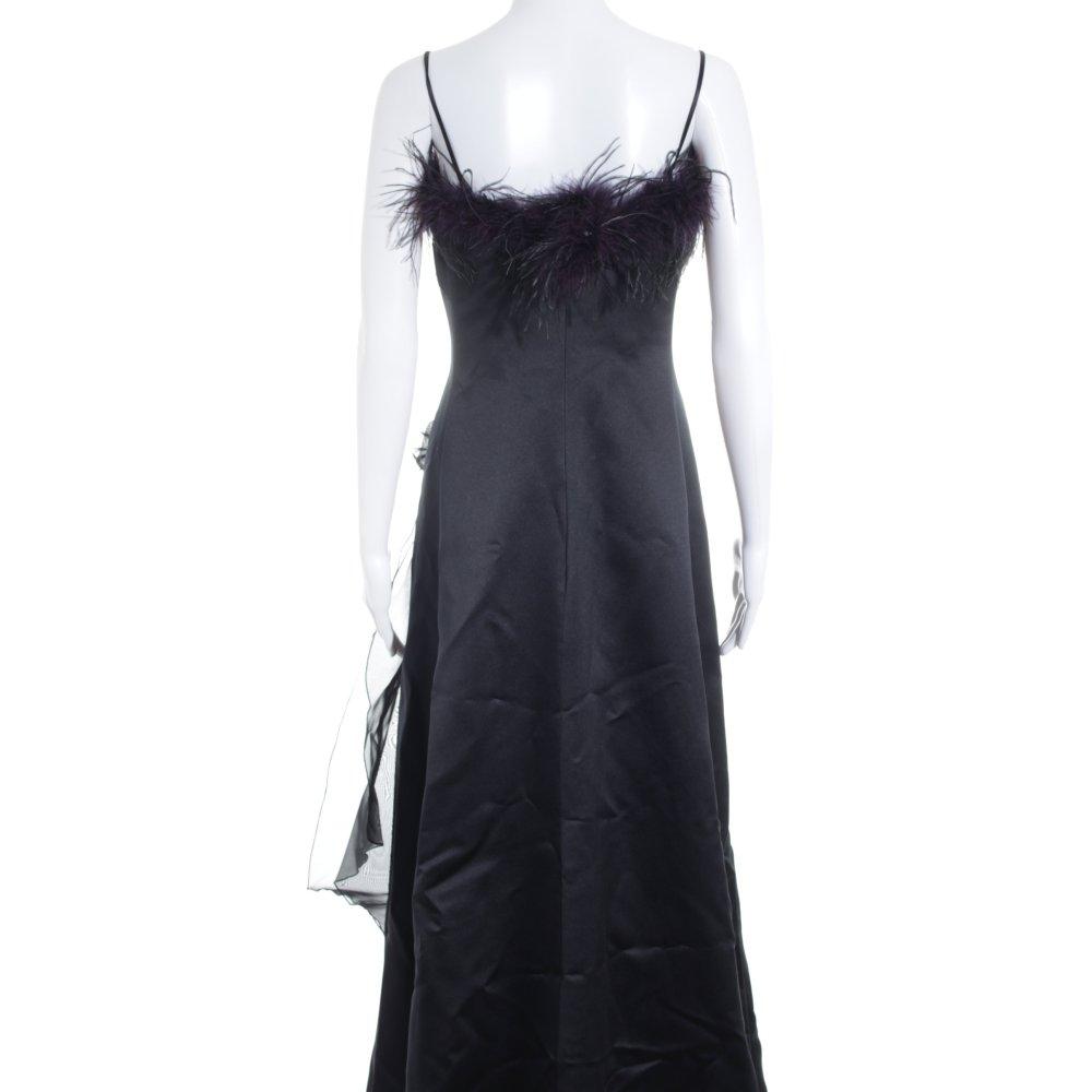 YOUR SIXTH SENSE Abendkleid schwarz-dunkelviolett Elegant ...