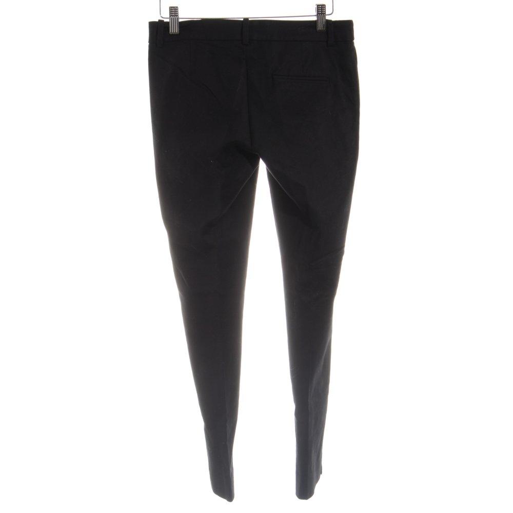 Dettagli su ZARA BASIC Pantalone da abito nero stile semplice Donna Taglia IT 38
