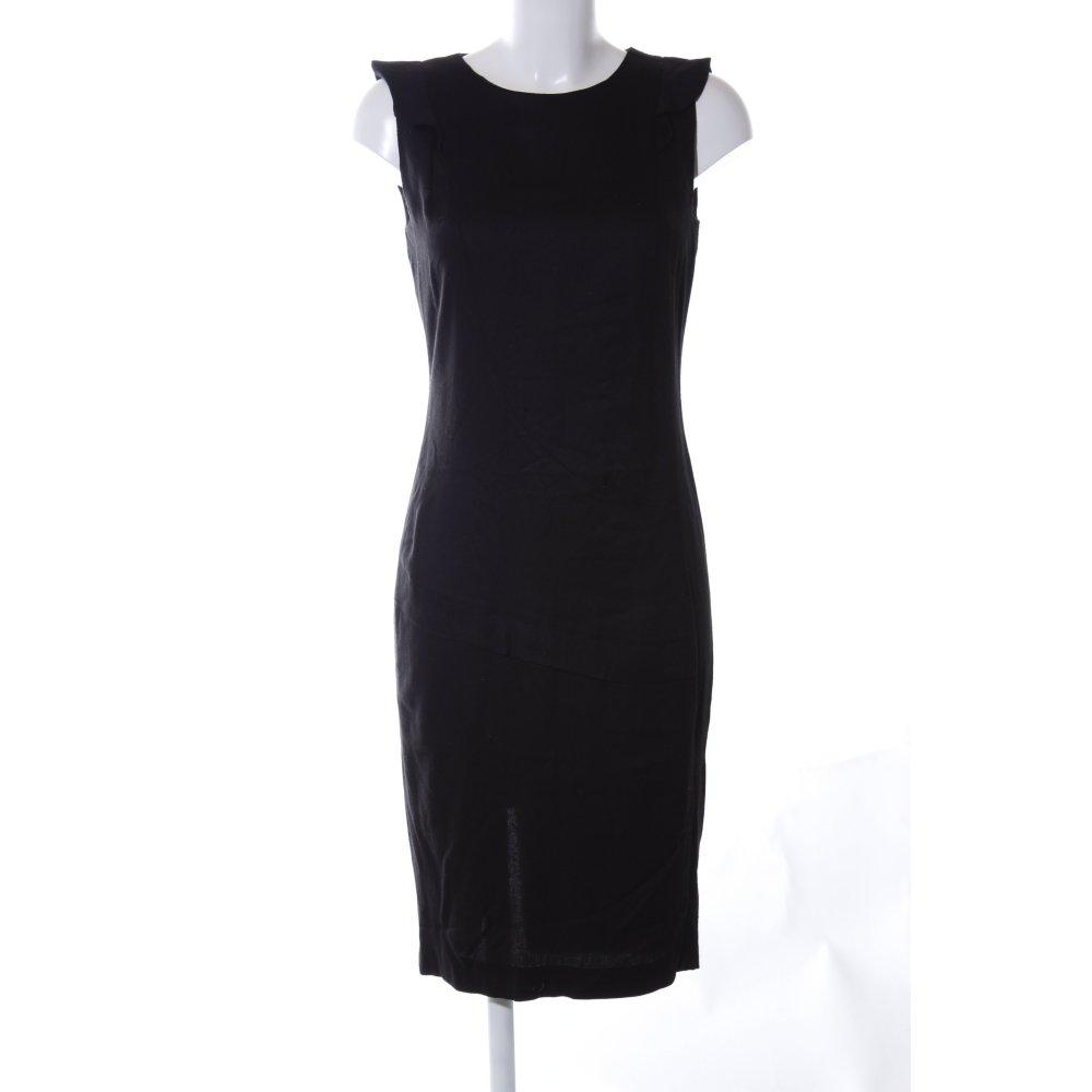 Detalles de ZARA BASIC Vestido ceñido de tubo negro elegante Mujeres Talla EU 36