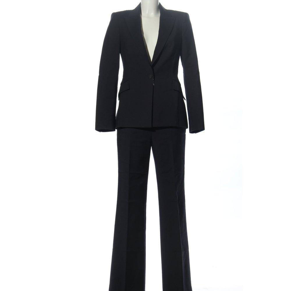 Dettagli su ZARA BASIC Tailleur pantalone nero stile professionale Donna Taglia IT 40