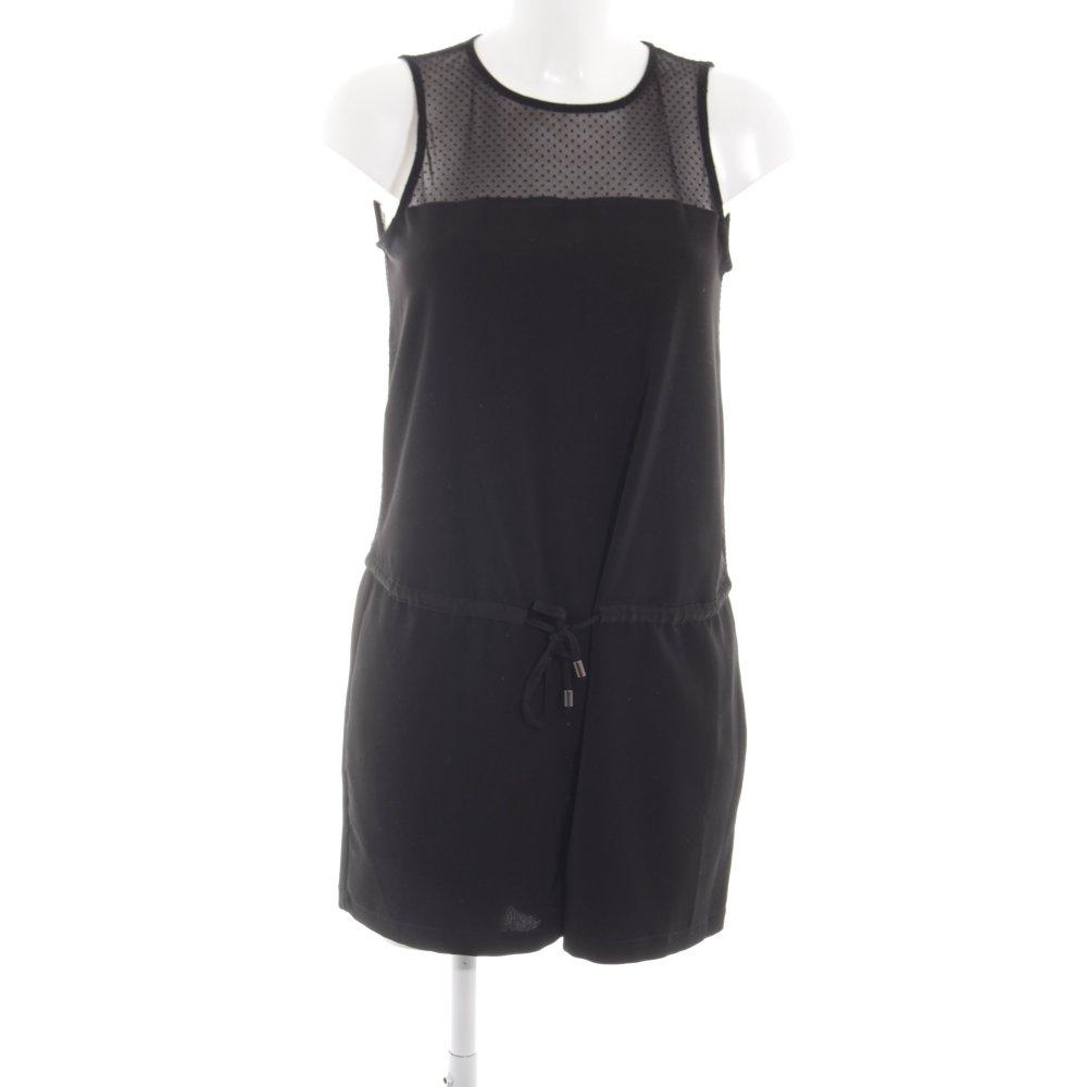Detalles de ZARA BASIC Mono negro look casual Mujeres Talla EU 36 Pantalón