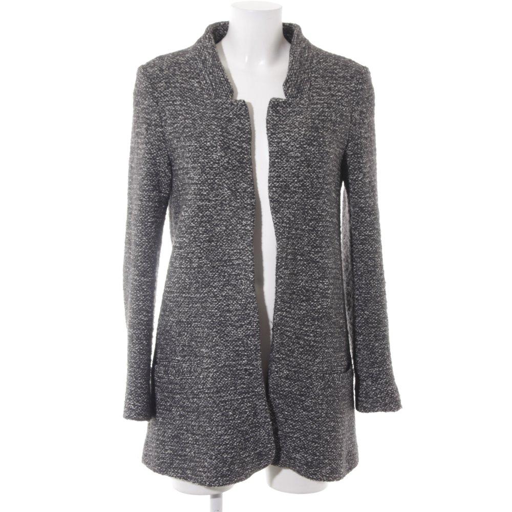 Dettagli su ZARA BASIC Blazer in jersey grigio chiaro stile casual Donna Taglia IT 42