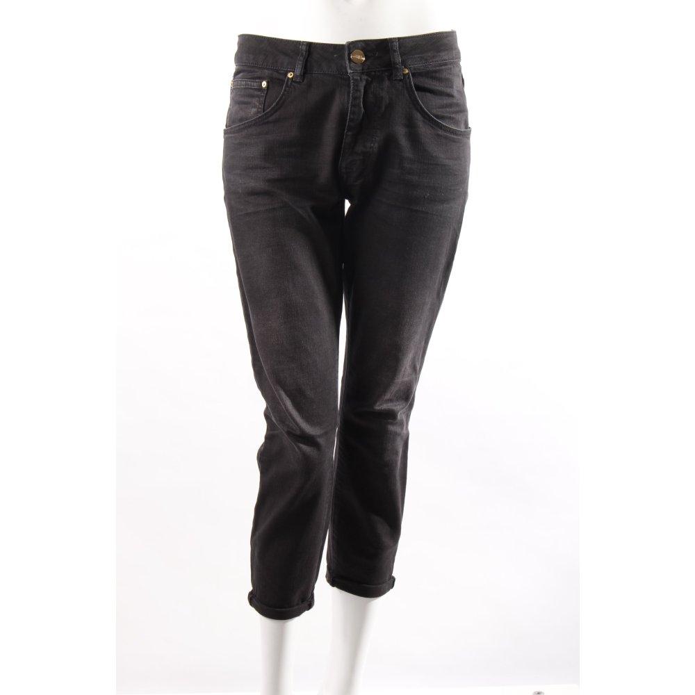 zara boyfriendjeans schwarz damen gr de 36 jeans. Black Bedroom Furniture Sets. Home Design Ideas