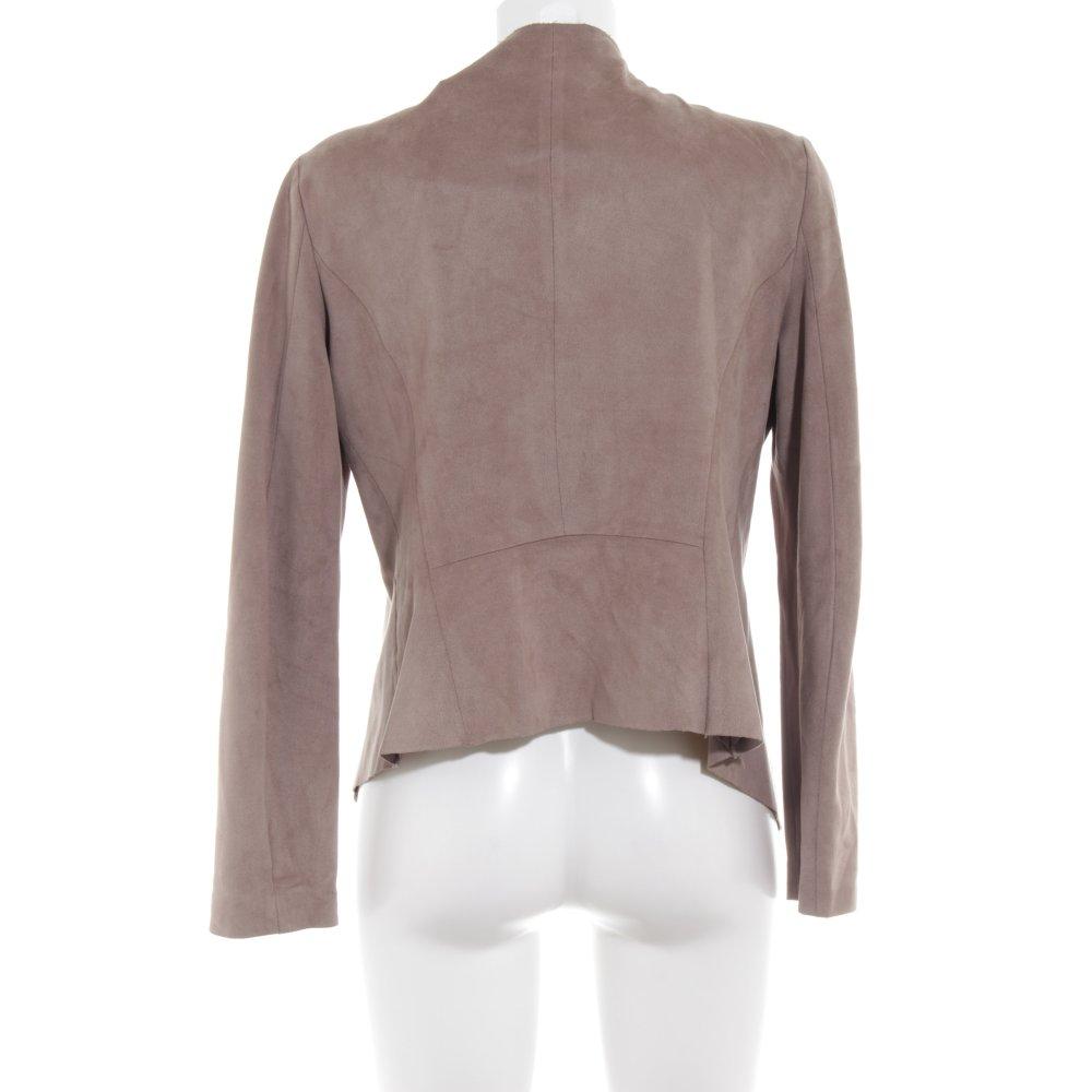Dettagli su ZARA WOMAN Giacca corta marrone grigio stile casual Donna Taglia IT 42