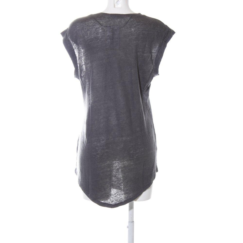 revendeur d7226 35bc0 Détails sur ZARA Robe t-shirt gris clair moucheté style décontracté Dames T  38