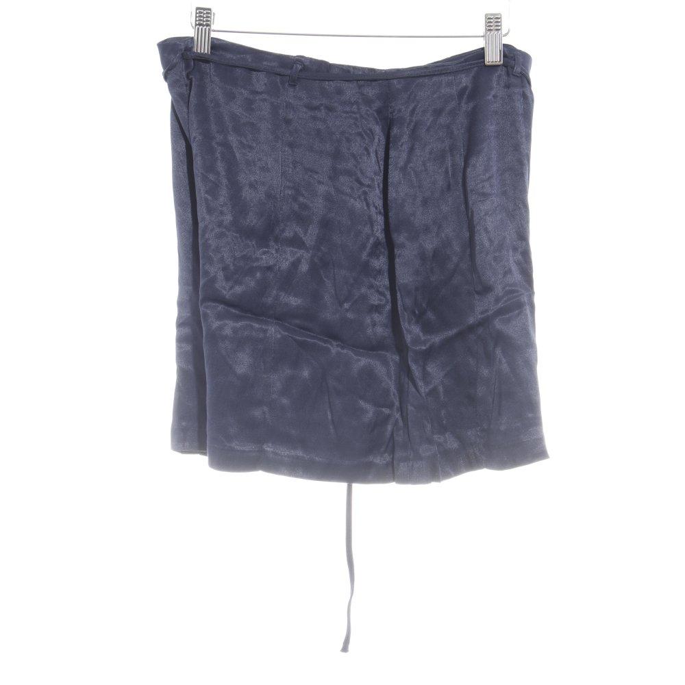 Dettagli su ZARA Shorts blu scuro stile casual Donna Taglia IT 44 Pantalone