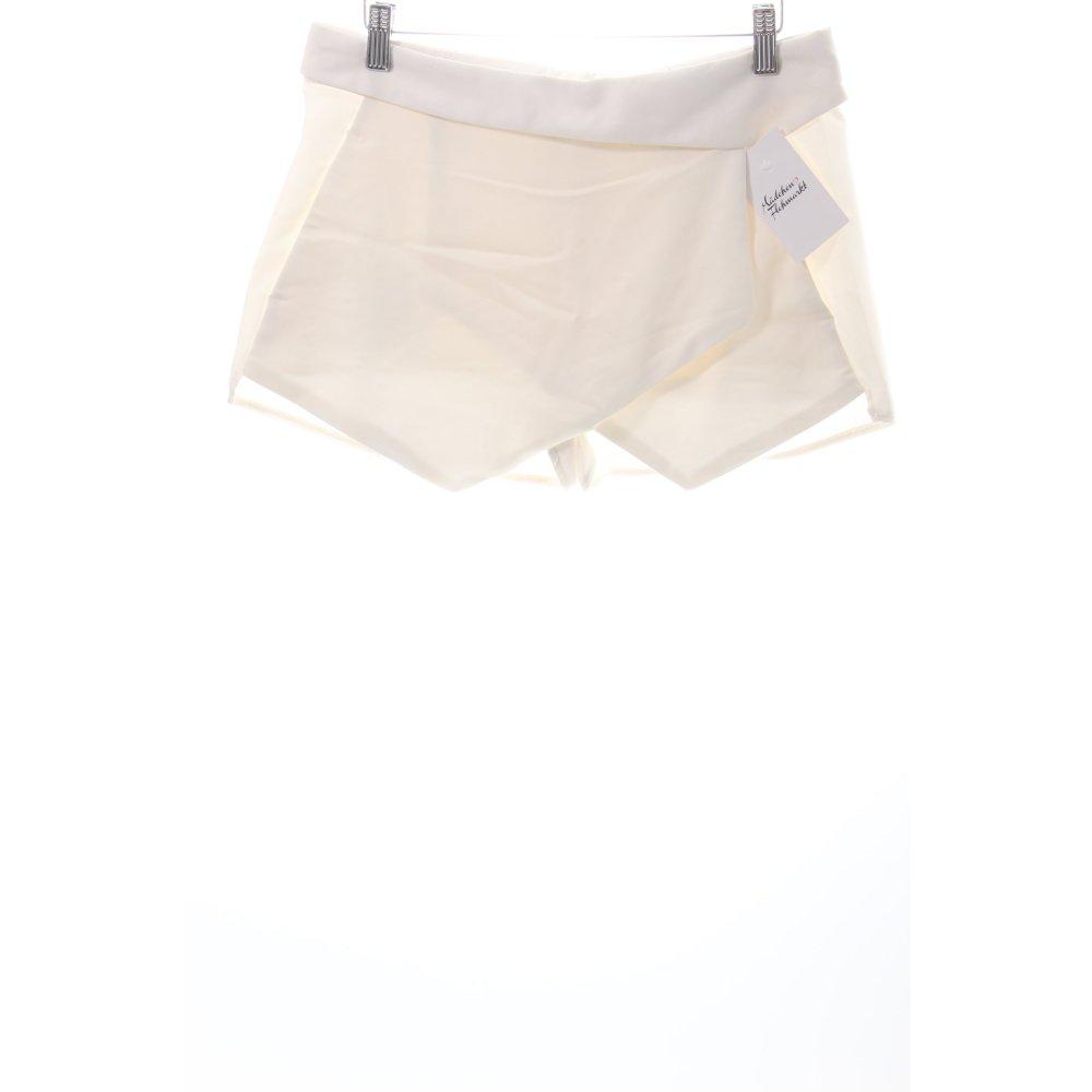 Zara shorts wei klassischer stil damen gr de 36 wei for Klassischer stil