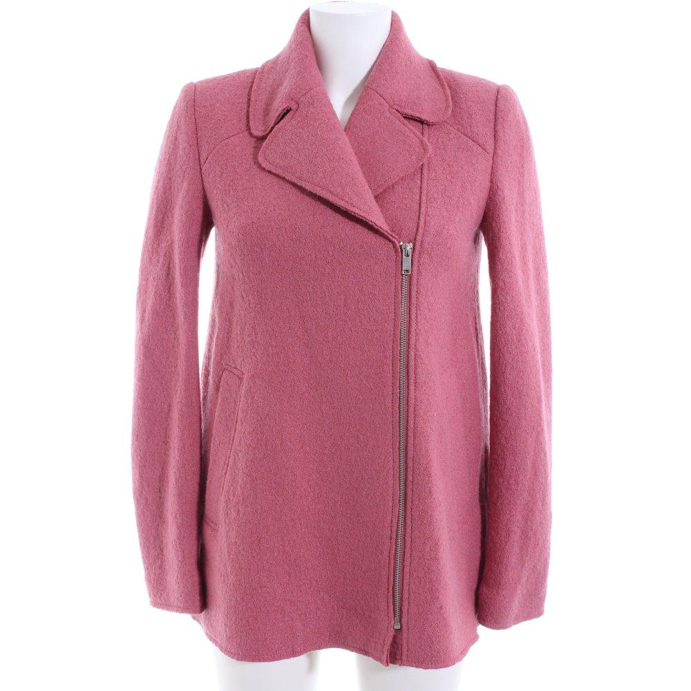 ZARA TRAFALUC Manteau court rose style d'affaires Dames T 36