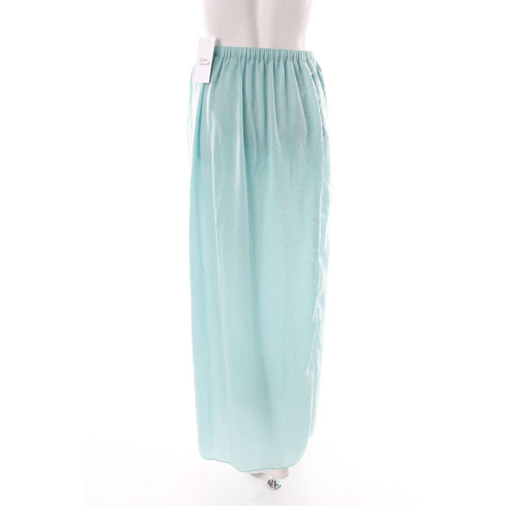 zara trafaluc maxi skirt turquoise s size uk 8 ebay