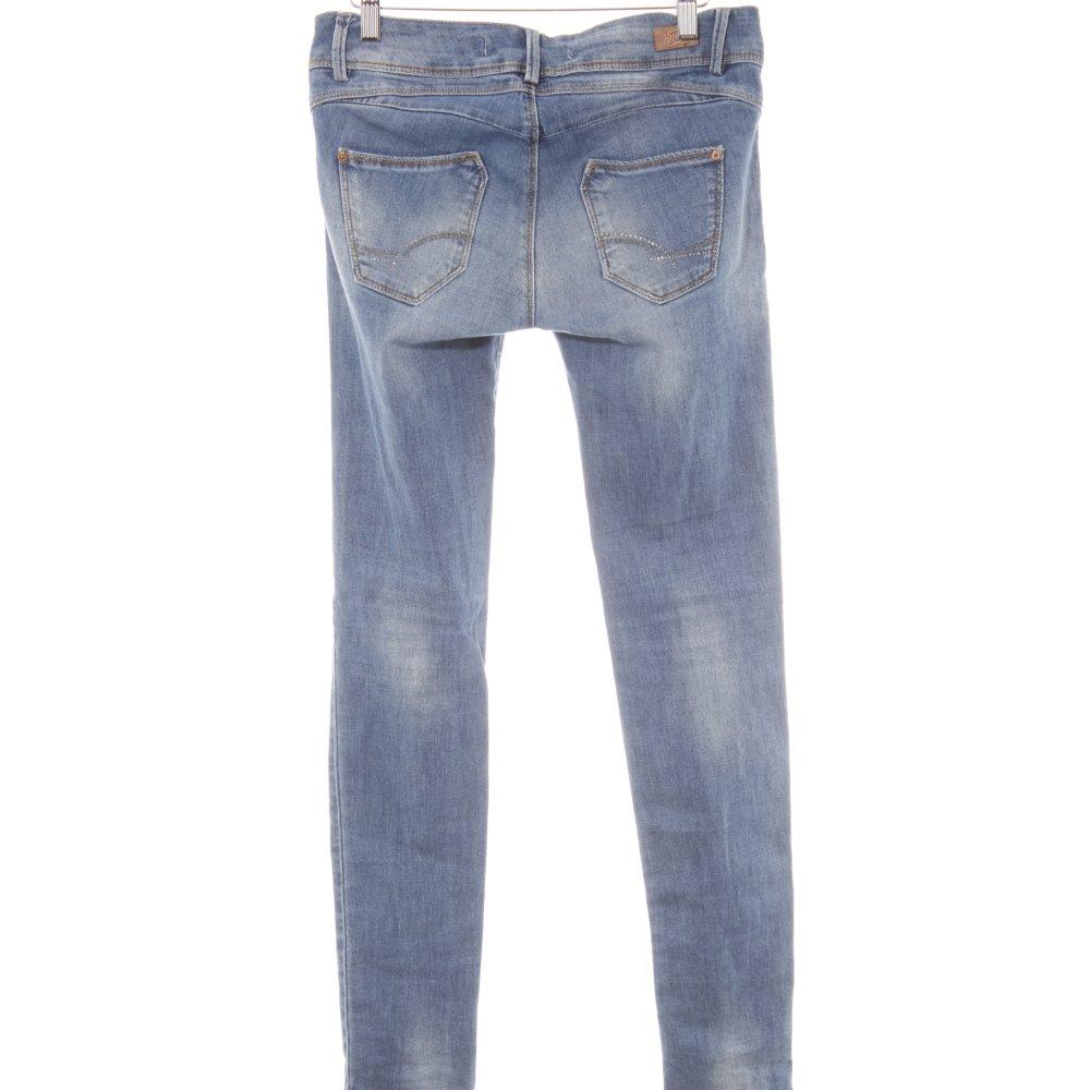 Dettagli su ZARA TRAFALUC Jeans skinny blu stile casual Donna Taglia IT 40