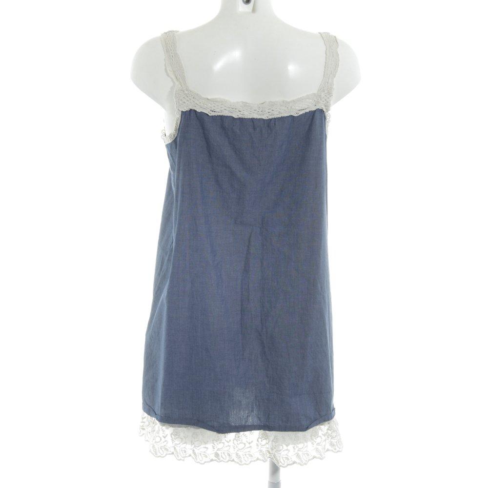 Dettagli su ZARA TRAFALUC Vestito da spiaggia blu fiordaliso stile spiaggia Donna Abito