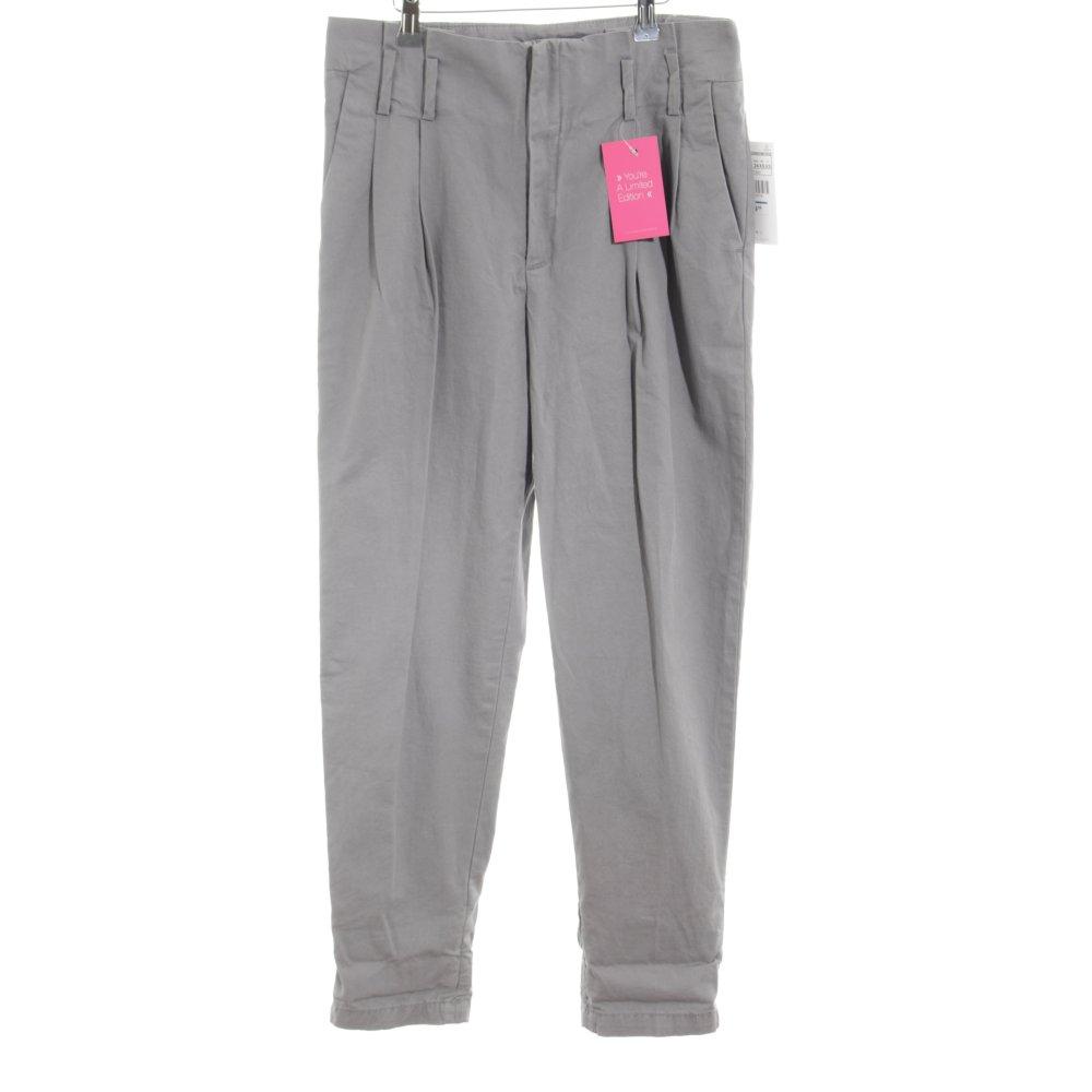 pantalon a pince gris femme zara