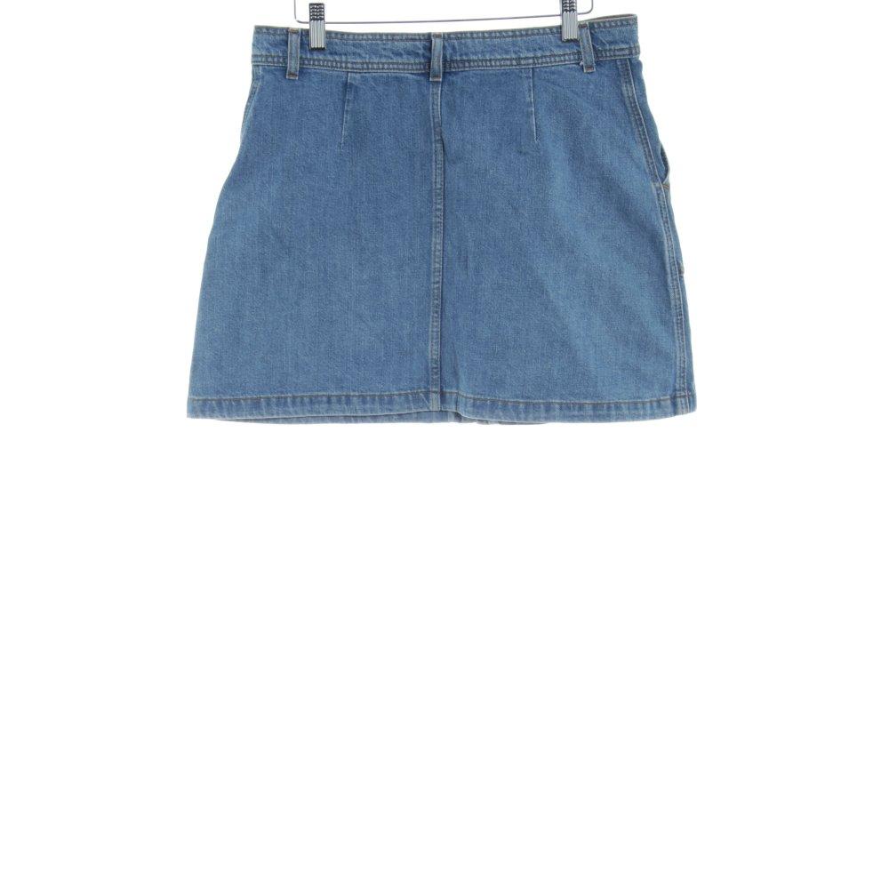 ac16f01d44 Dettagli su ZARA WOMAN Gonna di jeans azzurro stile casual Donna Taglia IT  44 Cotone