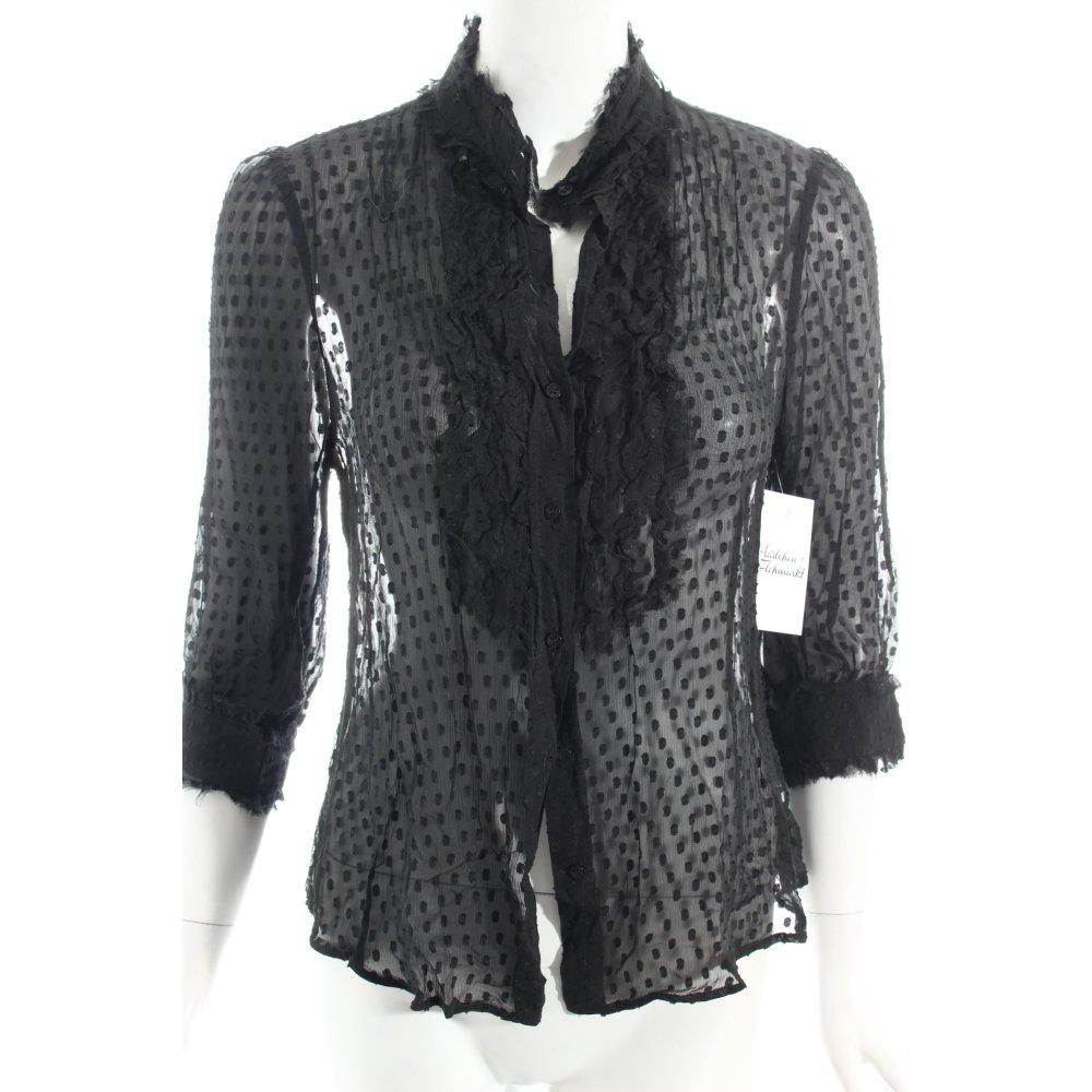 Zara Blouse With Transparent Details 81