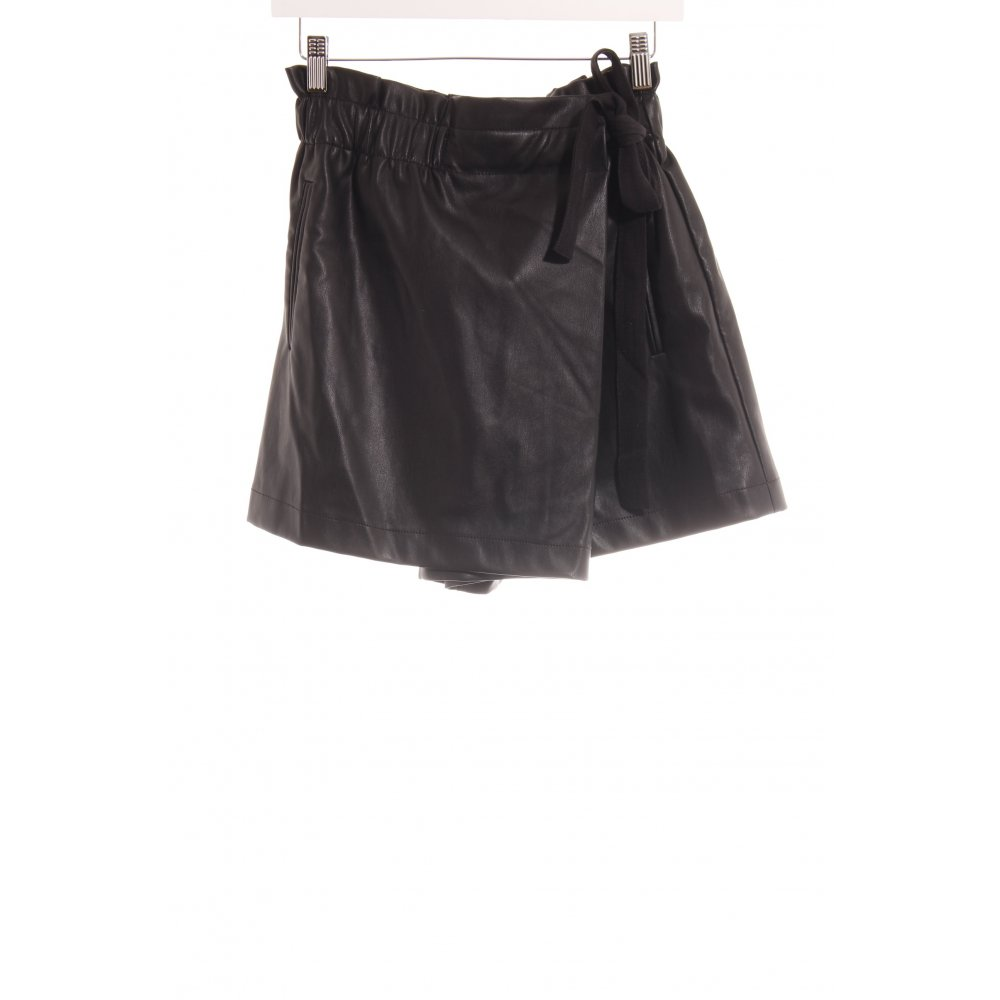 37103b0044 Dettagli su ZARA WOMAN Gonna da tennis nero stile casual Donna Taglia IT 42  Pantalone corto